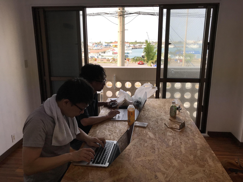 コワーキングスペース「Zuppa Ishigaki 離島ターミナル」をお借りしました