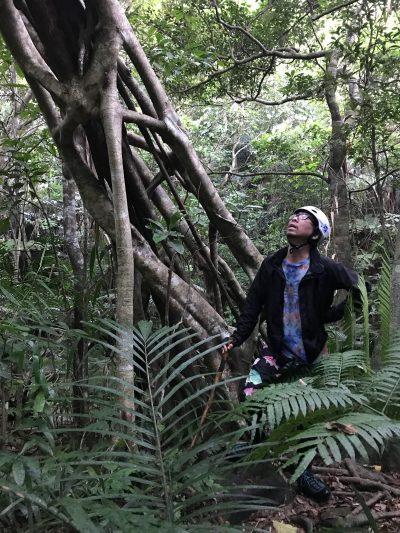 超がつくジャングルの迫力に唖然とする中川